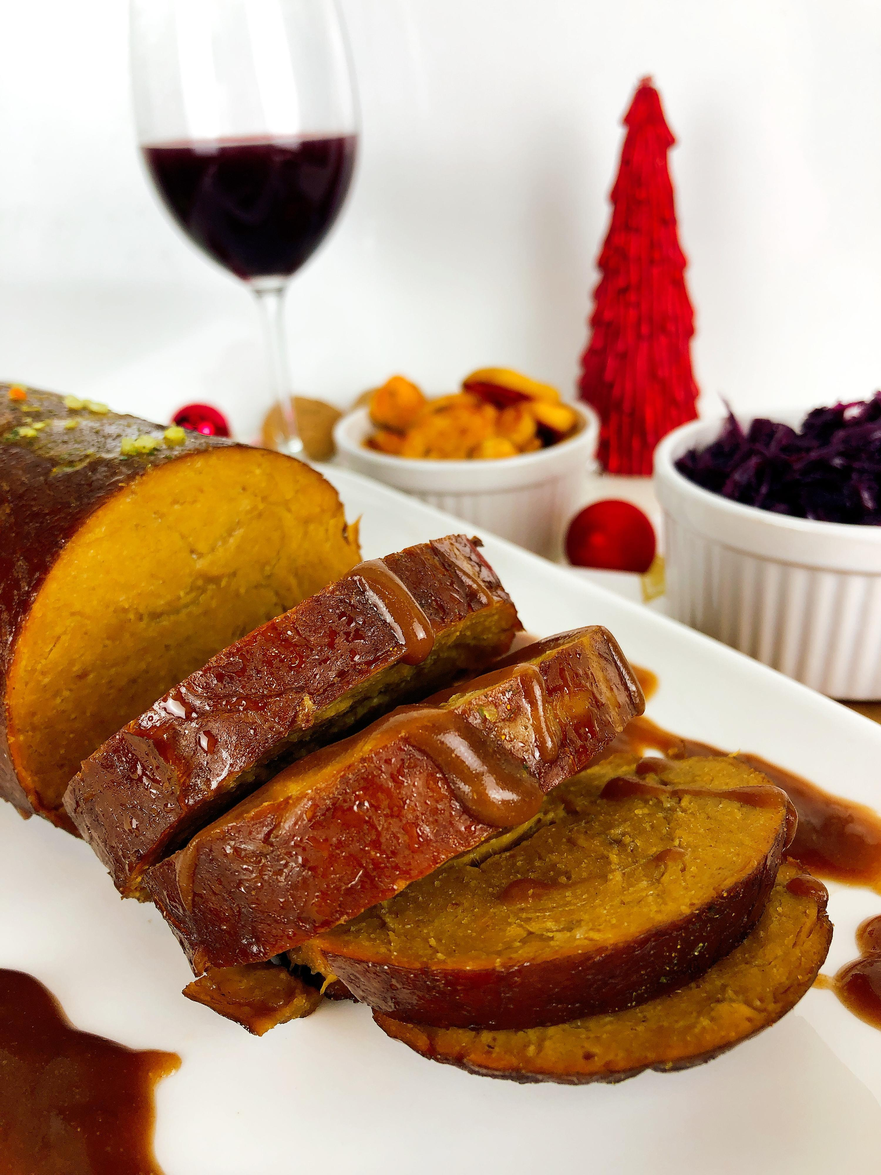 Braten Weihnachten.Drei Gänge Samt Braten So Klappt Das Vegane Weihnachtsmenü Gala De