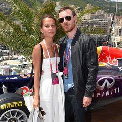 Ein Hoch auf Europa: Der deutschstämmige Ire Michael Fassbender hat 2017 die schöne Schwedin und Oscar-Preisträgerin Alicia Vikander dem unrealistischen Star-Heiratsmarkt entzogen.