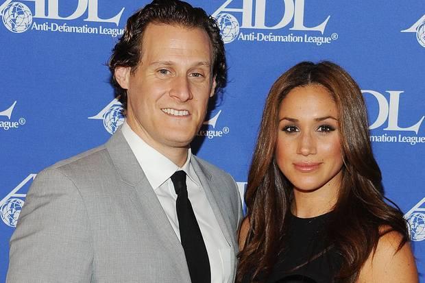 Meghan Markle und Trevor Engelson bei einem Dinner in Los Angeles im Jahr 2011 – fünf Jahre, bevor sie Prinz Harry kennenlernte.