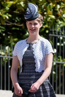 Die im November2003 geboreneLady Louise Windsor ist die Tochter von Prinz Edward, dem jüngsten Sohn von Queen Elizabeth, und seinerFrau Sophie.