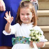 Prinzessin Charlotte ist die kleine Schwester von Prinz George und das zweite Kind von Prinz William und Herzogin Catherine. Sie ist im Mai 2015 geboren und Vierte in der britischen Thronfolge.