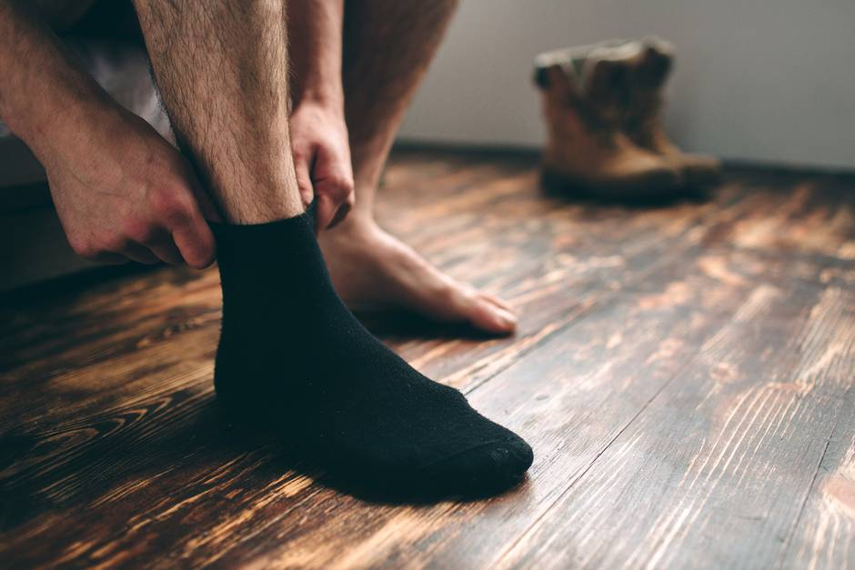 verschwitzte füße