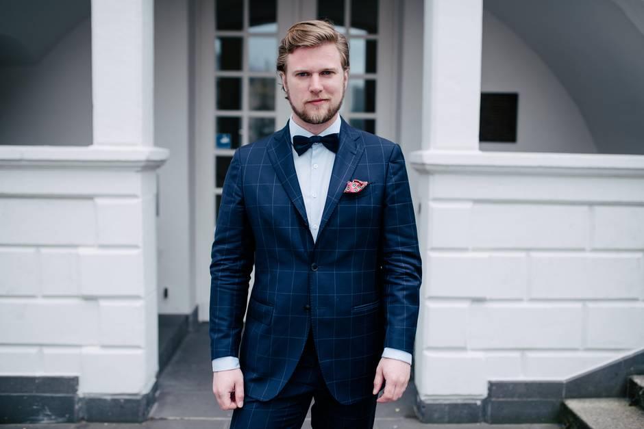 """David Schirrmacher, Gründer von """"Von Floerke"""", bekannt aus """"Die Höhle der Löwen"""""""