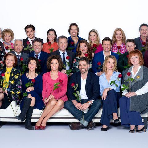 """""""Rote Rosen""""-Cast"""