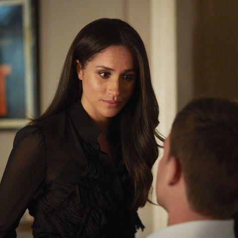 "Herzogin Meghan in der 7. Staffel der Anwaltsserie ""Suits"""