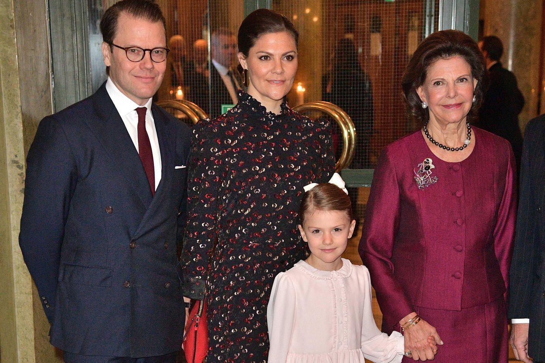 Prinz Daniel, Prinzessin Victoria, Prinzessin Estelle, Königin Silvia