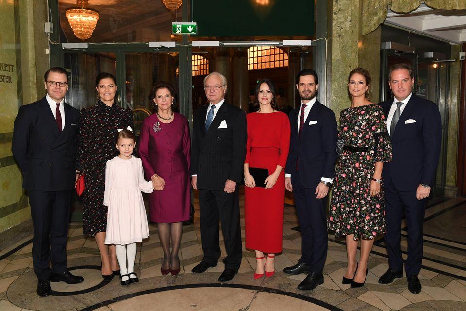 Die Familie von Königin Silvia hat sich zusammengefunden, um gemeinsam den 75. Geburtstag der Monarchin zu feiern.