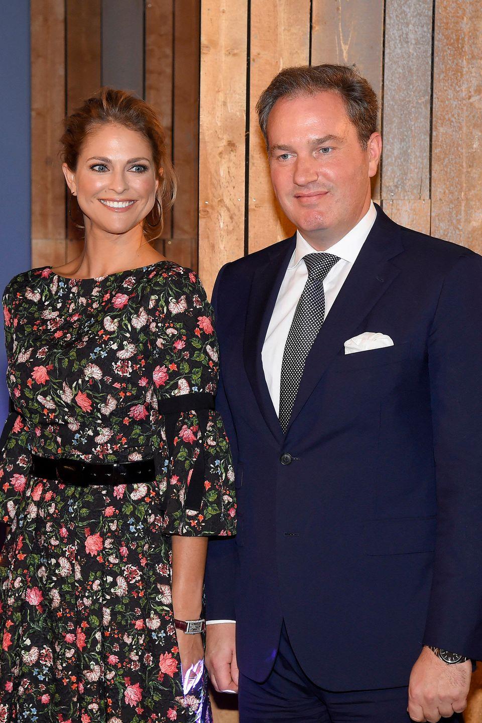 Königin Silvias jüngste TochterPrinzessin Madeleine ist mit ihrem Ehemann Chris O'Neill extra aus Florida angereist.