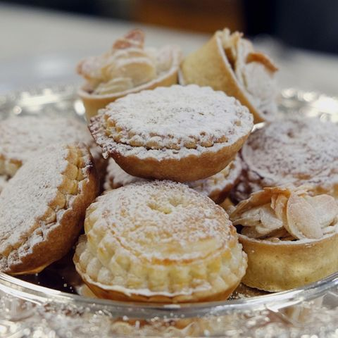 Mince Pies des Buckingham Palasts
