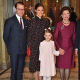 Prinzessin Estelledarf als einziges Enkelkind beim Empfang im Oscarsteatern dabei sein.