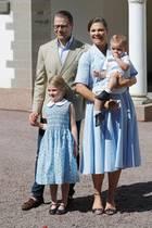 Prinz Daniel, Prinzessin Victoria, Prinzessin Estelle und Prinz Oscar