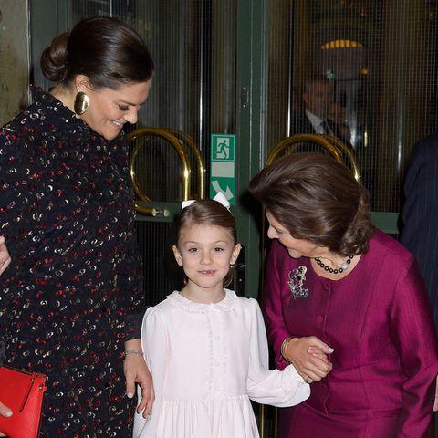 Prinzessin Victoria, Prinzessin Estelle, Königin Silvia