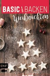 """Von Kokos-Schneebällen bis zu Cheesecake mit Glühwein: Dieses Buch vereint 40 kreative Ideen (""""Basic Backen – Weihnachten"""", EMF Verlag, 96 S., 7,99 Euro)"""