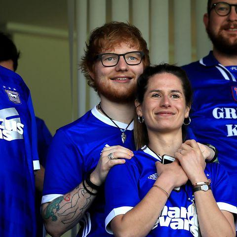 Ed Sheeran und seine Partnerin Cherry Seaborn