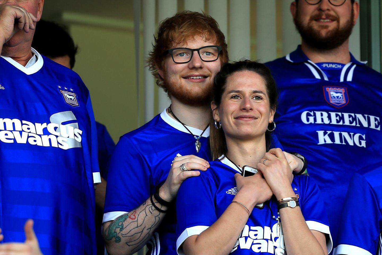 Ed Sheerans Frau