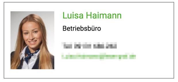 Luisa Haimann Job