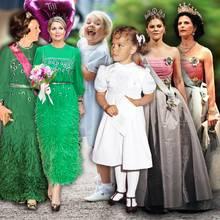 Prinzessin Beatrix, Königin Maxima, Prinzessin Estelle, Prinzessin Victoria, Königin Silvia