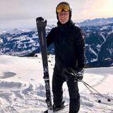 Gemeinsam mit seinem Bruder Tobias ist Bastian Schweinsteiger im Skiurlaub.