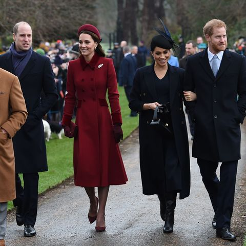 Prinz Charles, Prinz William, Herzogin Catherine, Herzogin Meghan, Prinz Harry