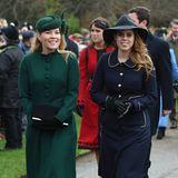 Autumn Philipps und Prinzessin Beatrice funktionieren den Gang zur Kirche mit ihren eleganten Looks in einen Laufsteg um.