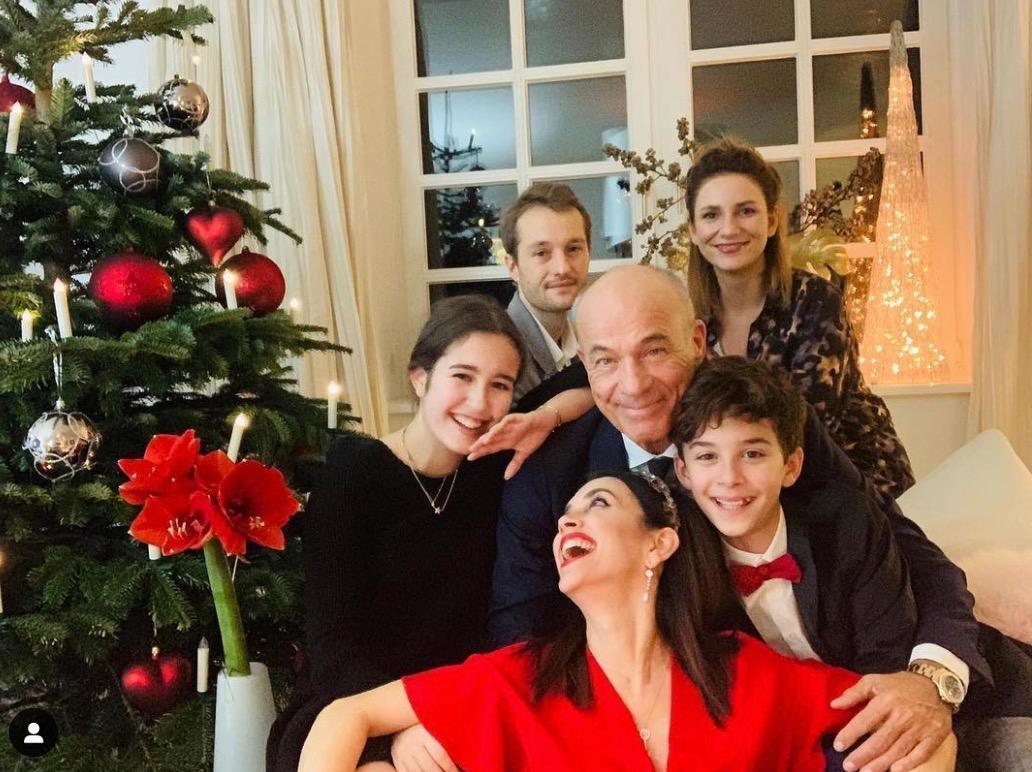 Familie Lauterbach im kleinen Kreis