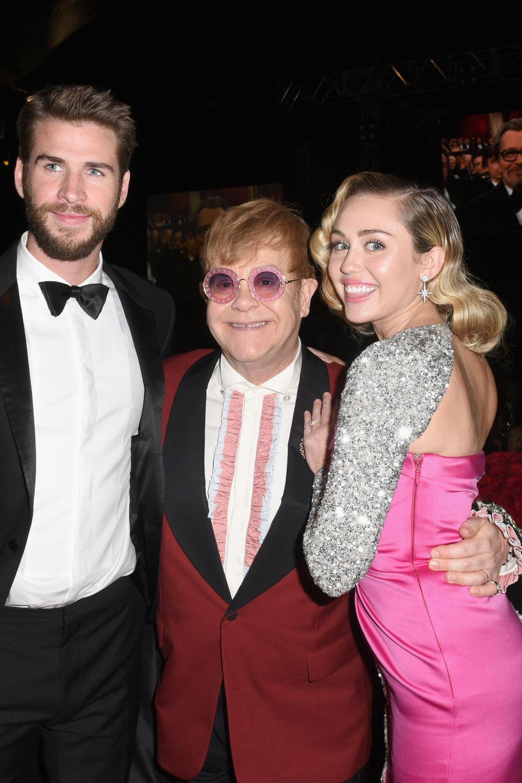 März 2018  Das Paar besucht auch die Party der Aids-Stiftung von Elton John.