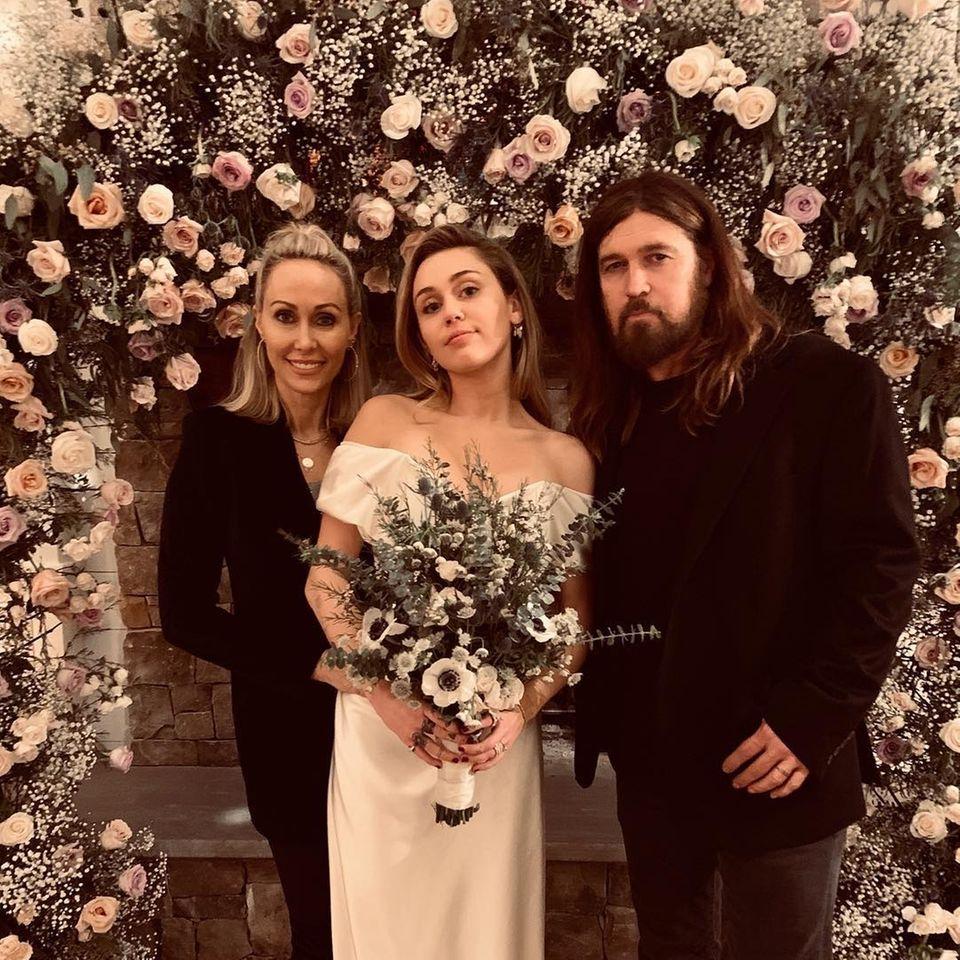 Miley Cyrus - Hochzeitsfotos