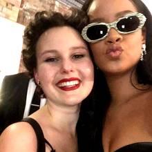 Rihanna mit Monia (†)