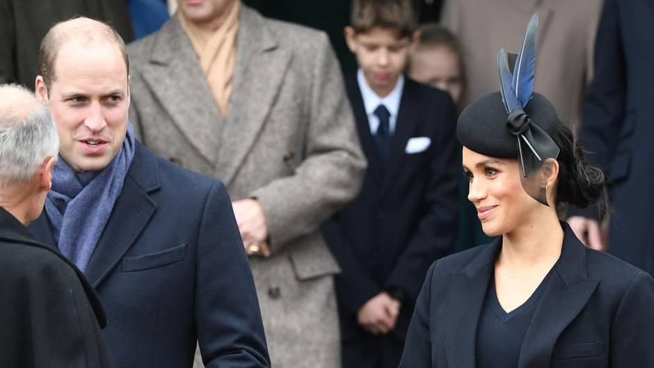 Prinz William + Herzogin Meghan