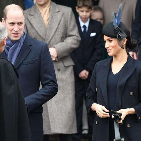 Prinz William + Herzogin Meghan