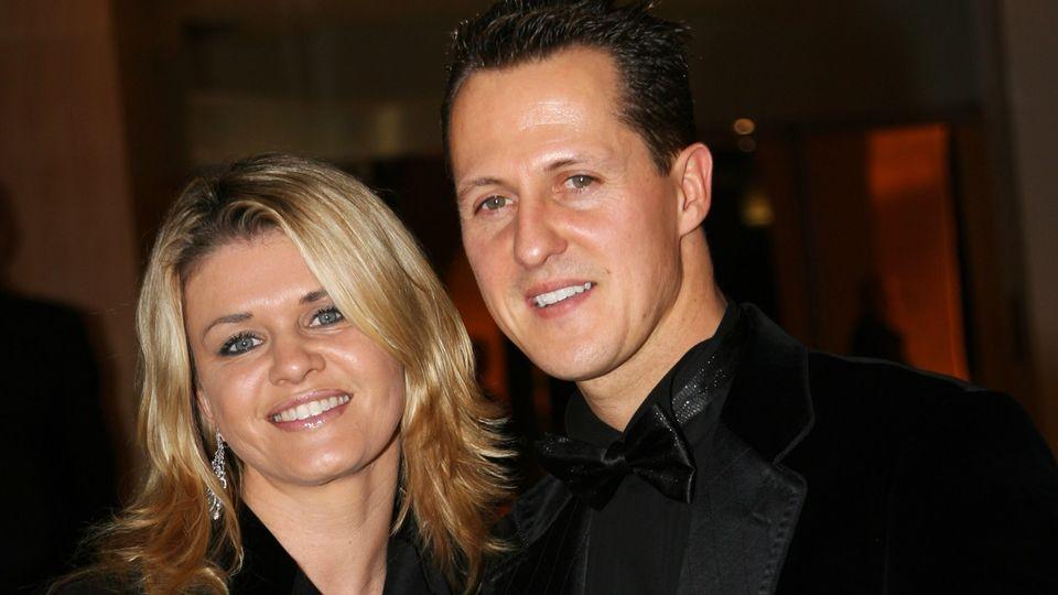 Corinna Schumacher und Michael Schumacher