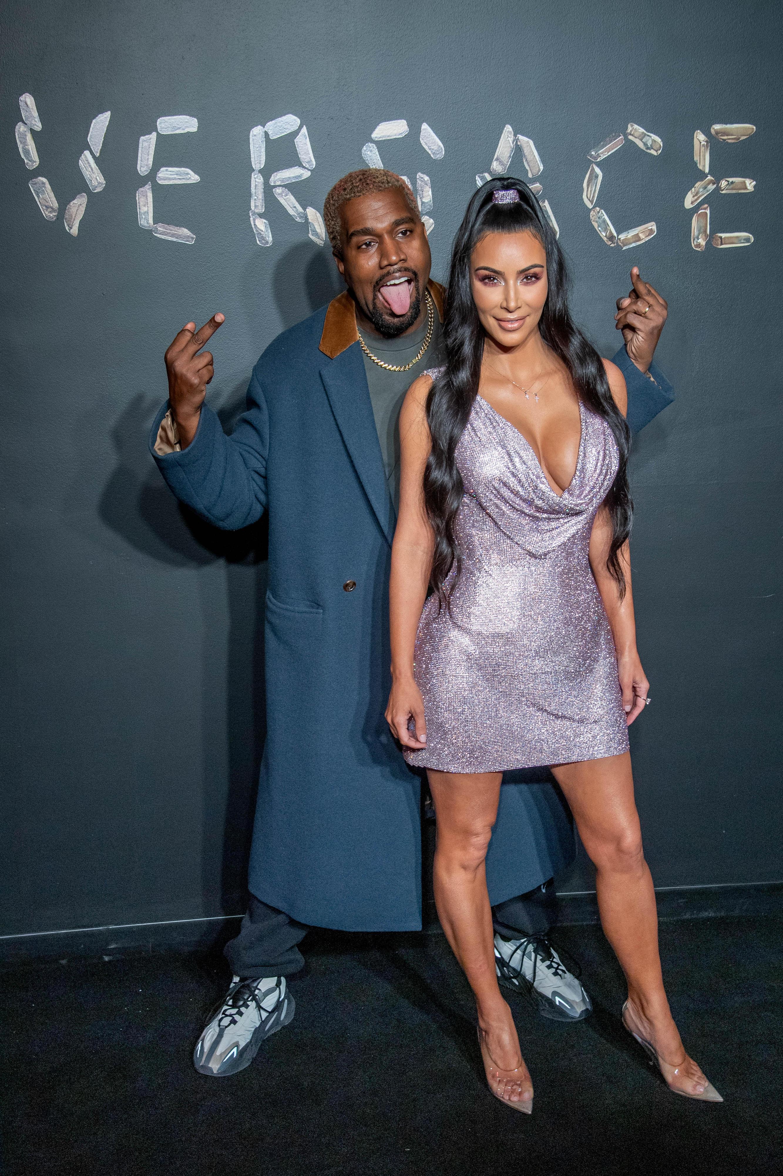 Kim Kardashian + Kanye West