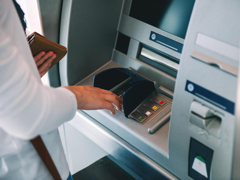 Baldgeld-Automat