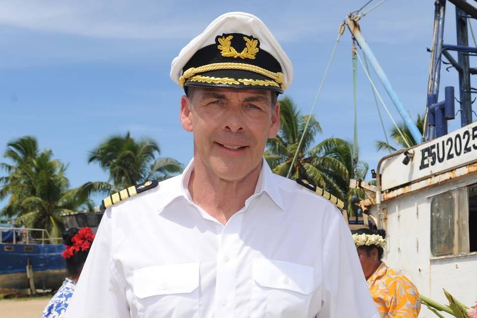 """Sascha Hehn spielte fünf Jahre lang den Kapitänauf dem """"Traumschiff"""""""