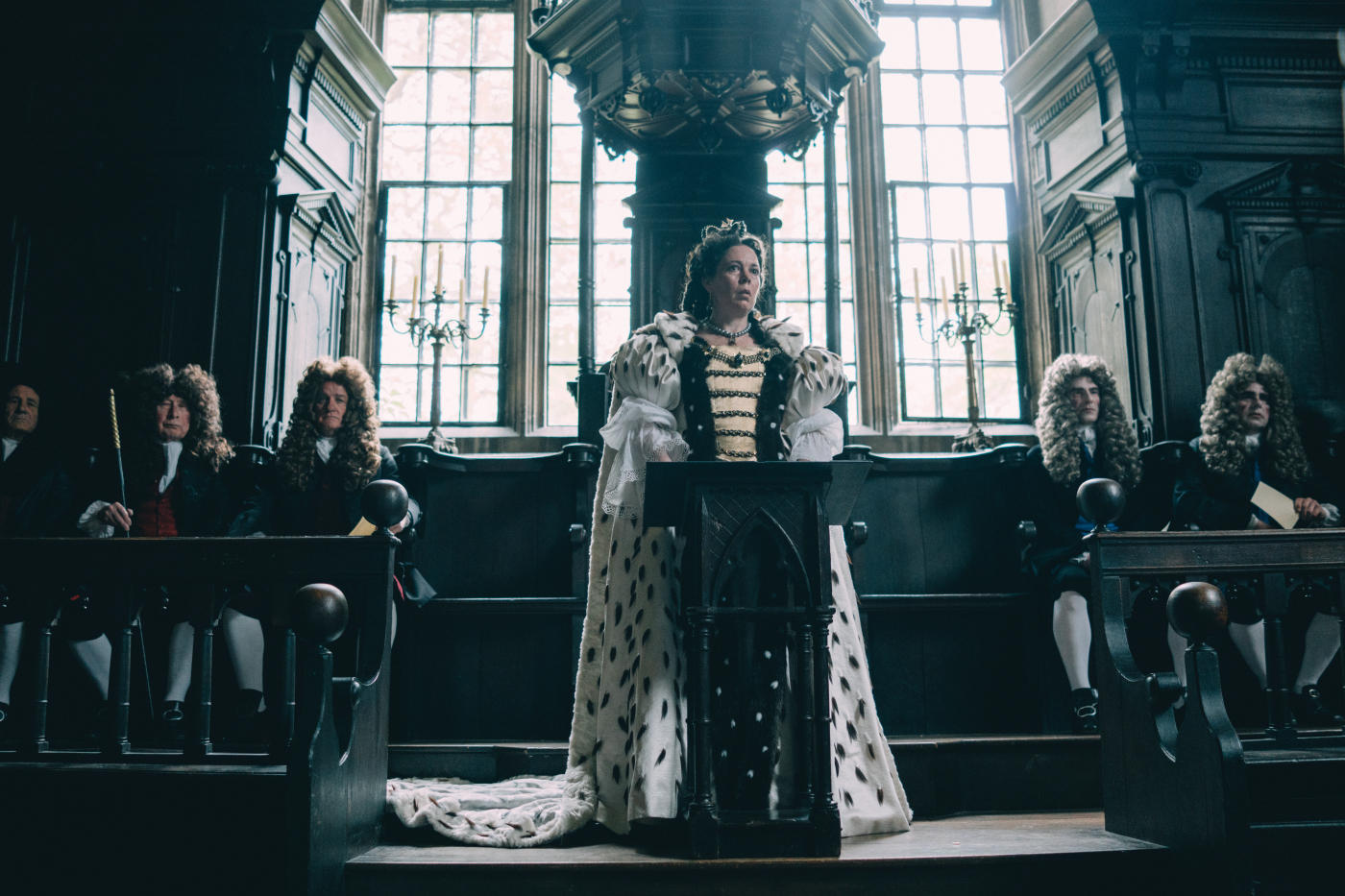 "Olivia Colman in ""The Favourite - Intrigen und Irrsinn"""