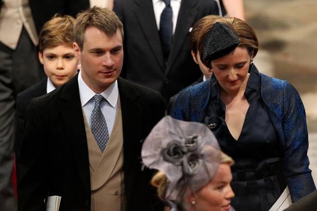 Der Earl and Countess von Ulster bei der Hochzeit von Prinz William und Kate Middleton im April 2011