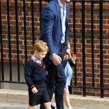 """Ganz ähnlich klingt die Bezeichnung, die Prinz George für seinen Vater, Prinz William, gewählt hat. Er sagt """"Pops"""" zu ihm."""