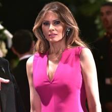 In 2017 beweist Melania Trump, wie gut ihr Pink steht.