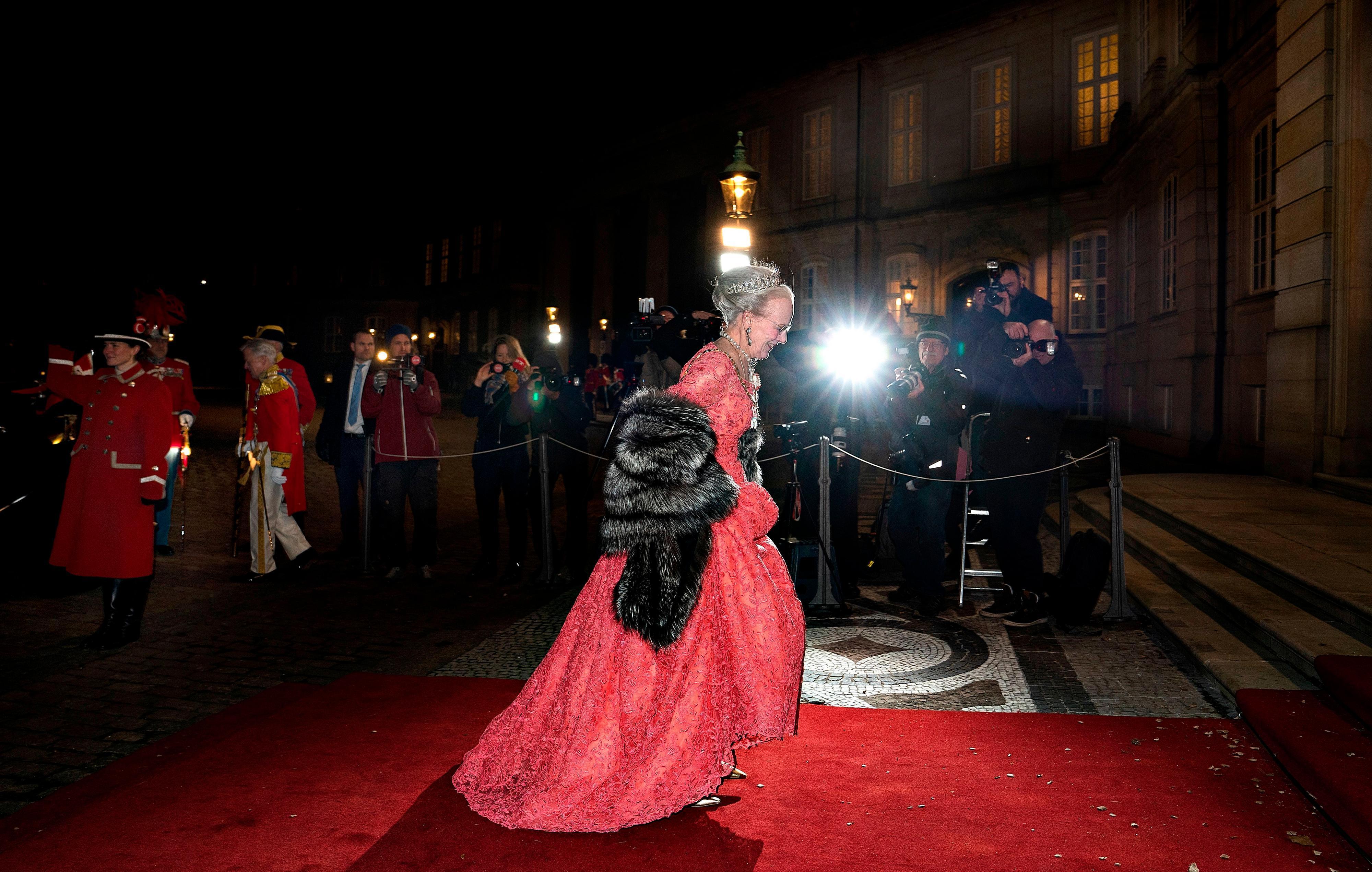 Konigin Margrethe Prinzessin Mary Und Familie Im Bann Des