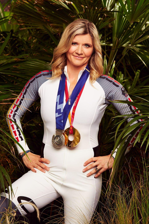 Sandra Kiriasis  So leicht kann sie keiner aufs Glatteis führen – nur blöd, dass es im australischen Dschungel erfahrungsgemäß ziemlich warm wird. Sandra Kiriasis ist Olympiasiegerin und Ikone des deutschen Bobsports.