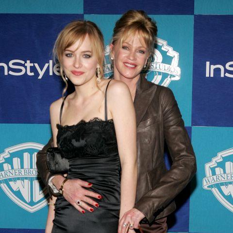 Dakota Johnson und Melanie Griffith bei den Golden Globes 2006