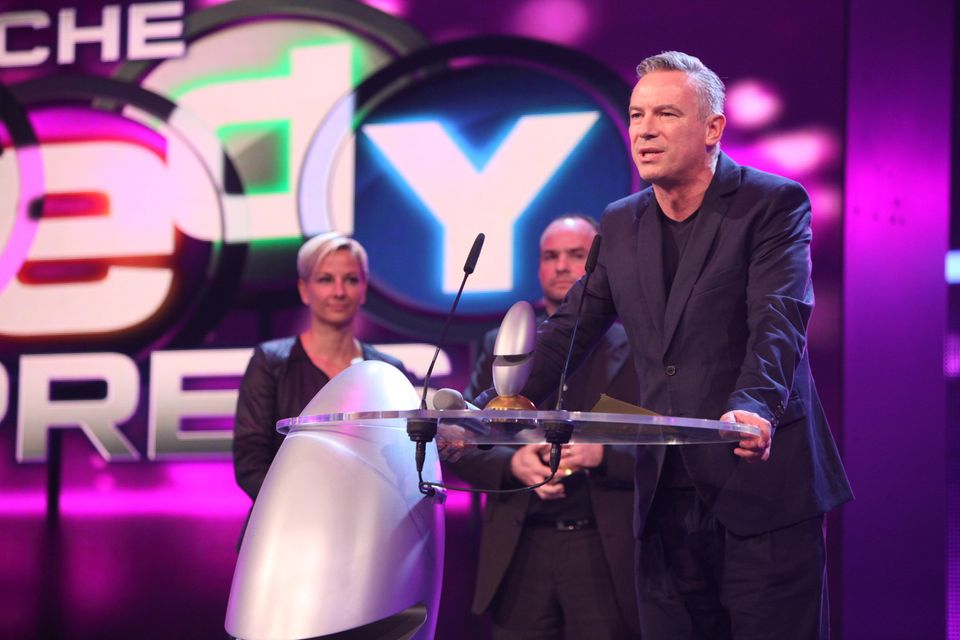 Otto Steiner bei der Verleihung des Deutschen Comedypreises in Köln 2014
