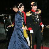 2006 feierte Prinzessin Marys Lieblings-Abendkleid sein Debüt. Damals trug sie es zum ersten Mal zum Neujahrsempfang.