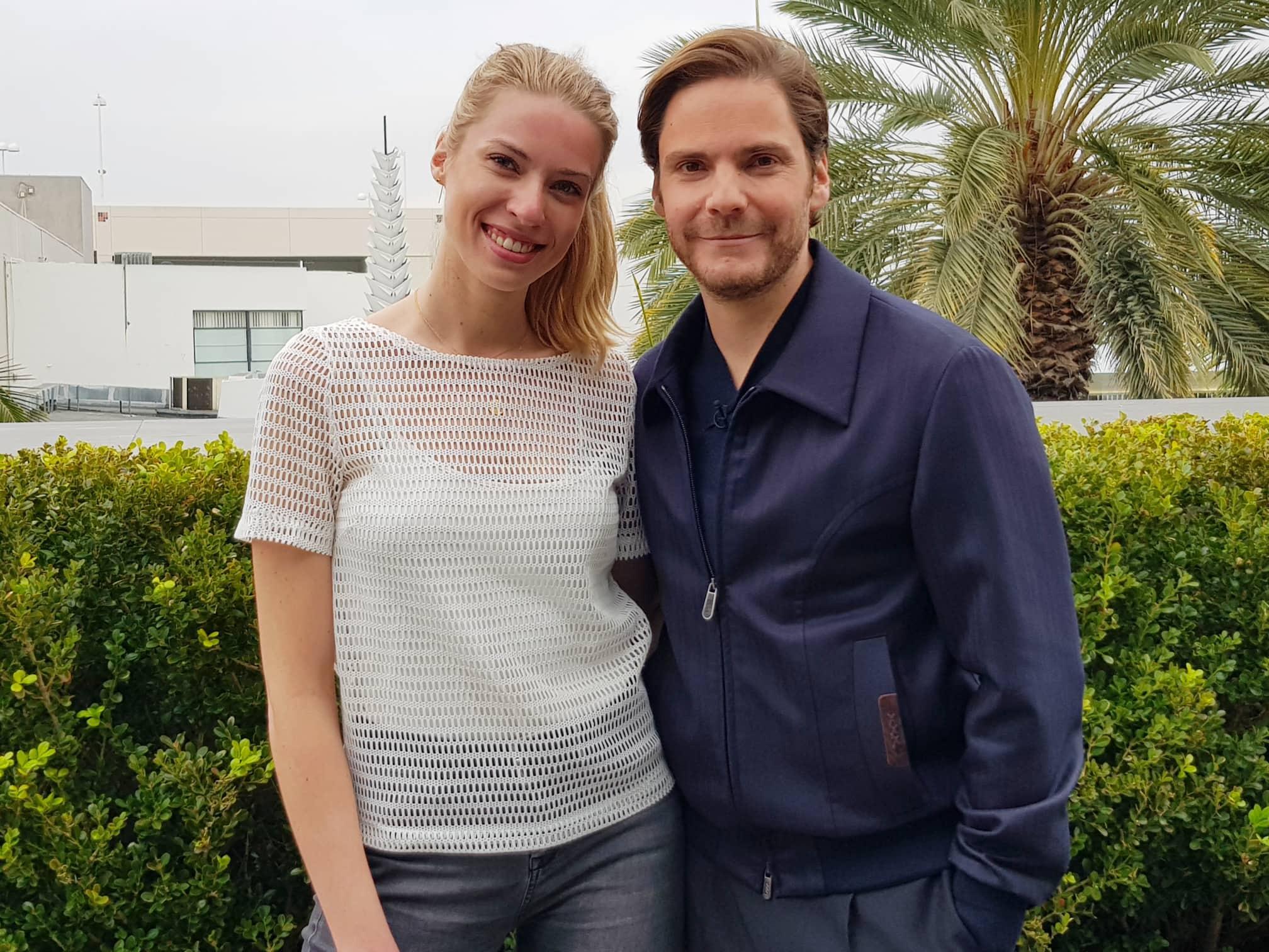 Einen Tag vor den Golden Globe Awards trifft GALA-Volontärin Ronja Ebeling den Schauspieler in Beverly Hills, Los Angeles.
