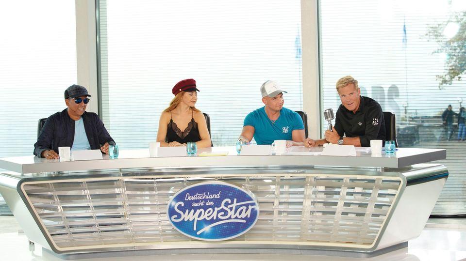 Xavier Naidoo, Oana Nechiti, Pietro Lombardi und Dieter Bohlen