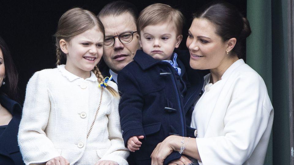 Prinzessin Estelle, Prinz Daniel, Prinz Oscar, Prinzessin Victoria
