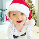 """5. Dezember 2018  """"Er kann's kaum erwarten"""", postet Storm Keating über ihren Weihnachtsbegeisterten Sohn Cooper."""