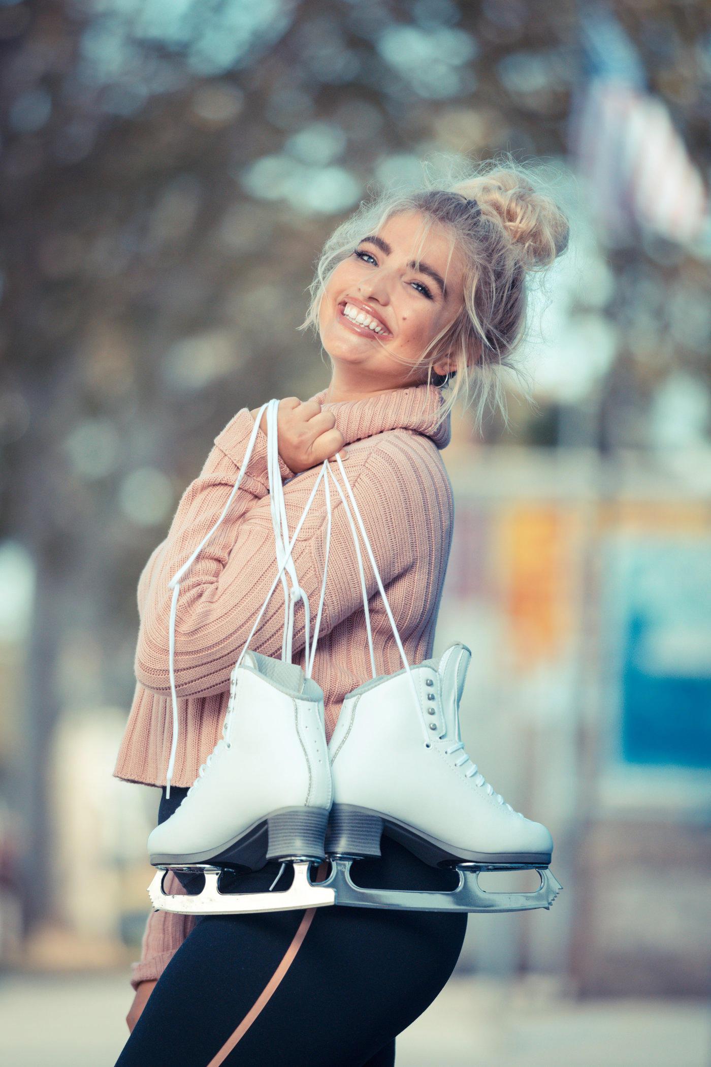 Sarina Nowak Bei Dancing On Ice Ich Plane Nicht Dass Sich Meine