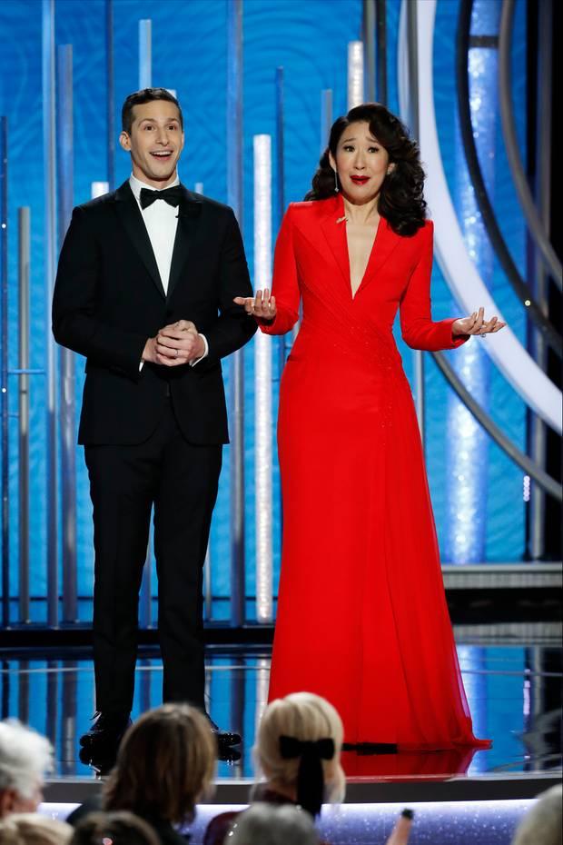 """""""Brooklyn Nine-Nine""""-Star Andy Samberg und """"Grey's Anatomy""""-Urgestein Sandra Oh moderieren die 76. Verleihung der Golden Globes."""