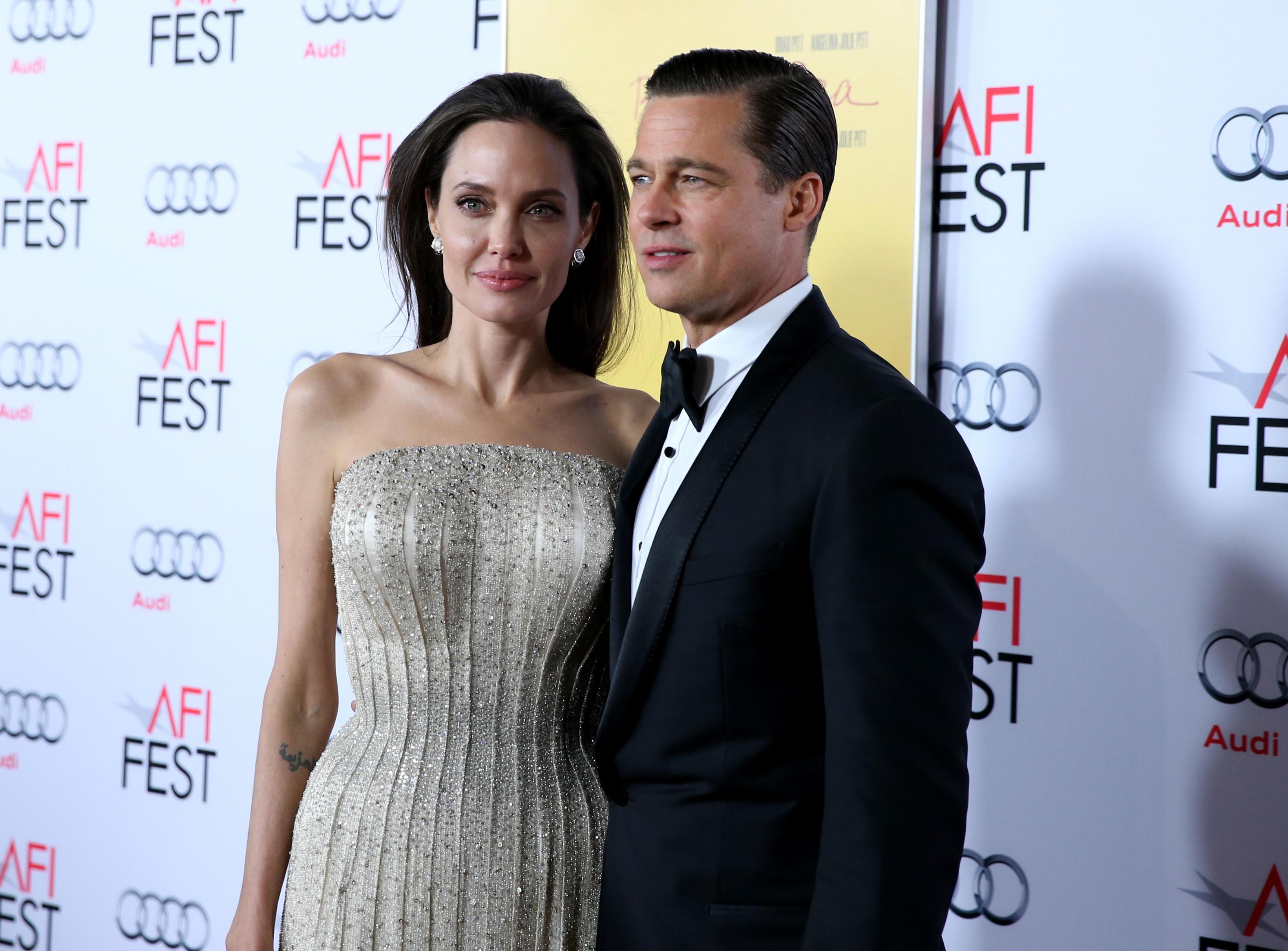 Angelina Jolie und Brad Pitt beimAFI Fest 2015